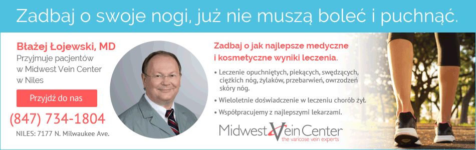 Midwest Vein Center Dr. Błażej Łojewski