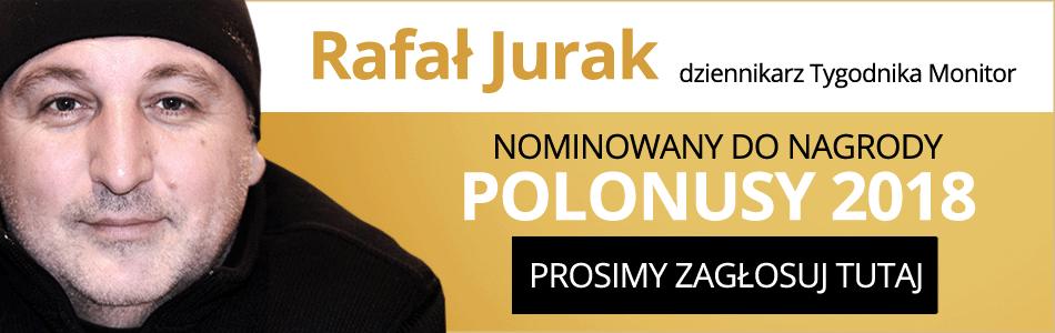 Rafał Jurak - dziennikarz Tygodnika Monitor - Głosuj w konkursie Polonusy 2018