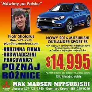 Max Madsen Mitsubishi