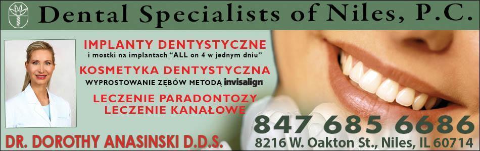 Anasinski Dorothy DDS